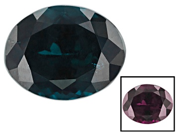 Picture of Blue Garnet Color Change 9.46x7.46x5.94mm Oval 3.55ct