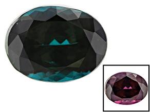 Garnet Color Change 10.27x7.9x6.07mm Oval 4.45ct
