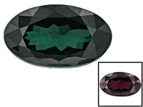 Garnet Color Change 10.7x6.36x5.42mm Oval 3.55ct