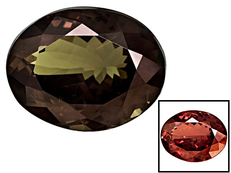 Garnet Color Shift 12.48x9.76x6.68mm Oval 7.05ct