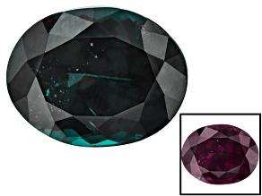 Blue Garnet Color Change 10.72x8.37mm Oval 4.66ct