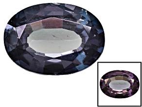 Blue Garnet Color Change 7x5mm Oval .85ct