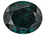 Blue Garnet Color Change 10.45x8.64mm Oval Mixed Step Cut 4.49ct