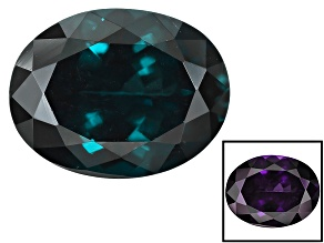 Blue Garnet Color Change 9x7mm Oval Portuguese Cut 2.25ct