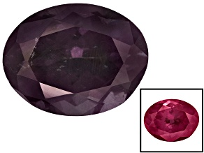 Garnet Color Change 9.5x7.5mm Oval 3.15ct