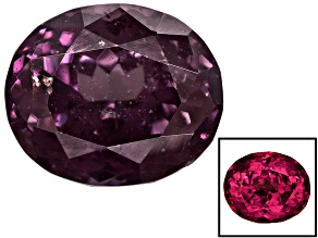 Garnet Color Shift 12.2x10.25x7.97mm Oval 8.33ct