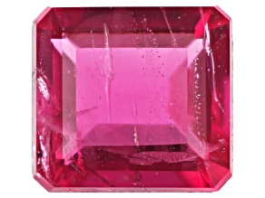 Bixbite or Red Beryl MM Varies Emerald Cut .12ct