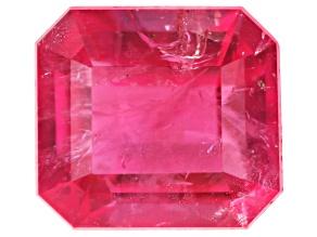 Bixbite or Red Beryl MM Varies Emerald Cut .10ct