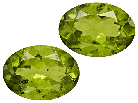 Vesuvianite 6x4mm Oval Set .90ctw