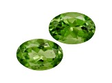 Vesuvianite 6x4mm Oval Set 1.00ctw