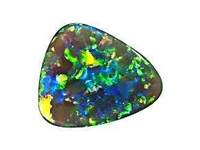 Black Opal 9.5x8.5mm Free Form Tablet 1.11ct