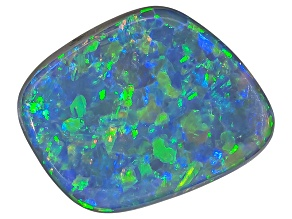 Black Opal Free Form Cabochon .50ct