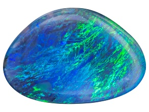Black Opal Free Form Cabochon 1.25ct