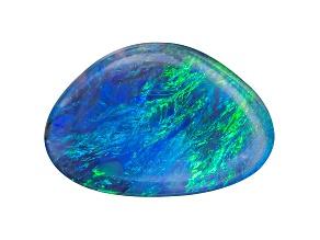 Black Opal Free Form Cabochon 1.25ct