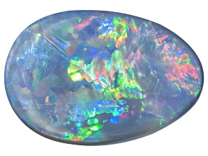 Black Opal Free Form Cabochon 1.65ct