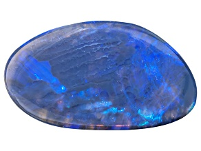 Black Opal Free Form Cabochon 2.75ct