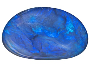Black Opal Free Form Cabochon 2.50ct
