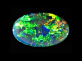 Black Opal 12.5x8mm Oval Cabochon 2.12ct