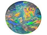 Black Opal 12.05x11.07mm Oval Cabochon 4.33ct