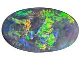 Black Opal 15.30x9.07mm Oval Cabochon 3.43ct