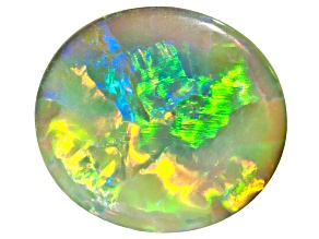 Black Opal 9.5x8.5mm Oval Cabochon 1.65ct