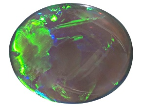 Black Opal 10.47x8.40mm Oval Cabochon 2.84ct