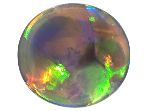 Black Opal 10.51x11.24mm Oval Cabochon 2.09ct
