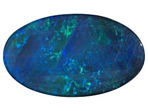 Black Opal 16.53x9.66mm Oval Tablet 4.82ct