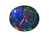 Black Opal 7.49x6.43mm Oval Tablet .99ct