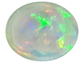 Black Opal Oval Cabochon .70ct