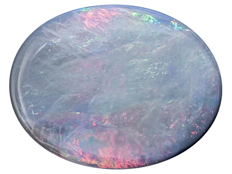 Black Opal Oval Cabochon 1.00ct
