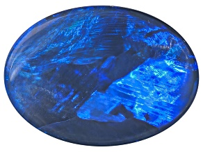 Black Opal Oval Cabochon 1.50ct