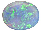 Black Opal Oval Cabochon 2.00ct