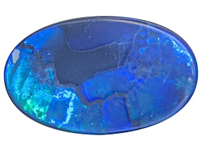 Australian Lightning Ridge Opal Min 2.00ct mm Varies Oval Cabochon
