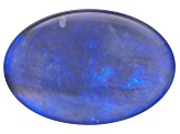 Black Opal Oval Cabochon 4.20ct