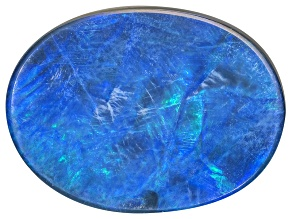 Black Opal Oval Cabochon 4.30ct