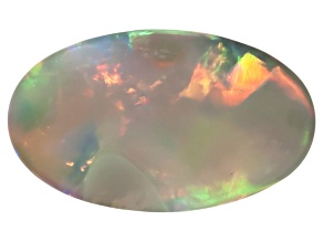 Black Opal Oval Cabochon 2.10ct