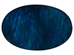 Black Opal Oval Cabochon 2.75ct