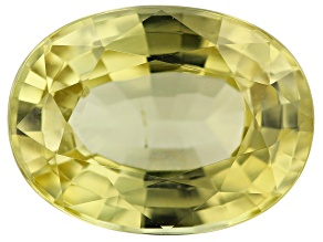 Chrysoberyl 4.55ct 11.7x8.8mm Oval