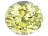 Chrysoberyl 7x6.2mm oval 1.23ct