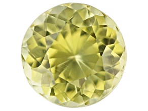 Chrysoberyl 6.7mm round 1.38ct