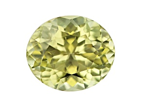 Chrysoberyl 7.1x6.1mm oval 1.38ct