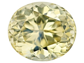 Chrysoberyl 7.3x6.3mm oval 1.58ct