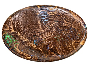 Boulder Opal in Matrix 30x20mm Oval Cabochon