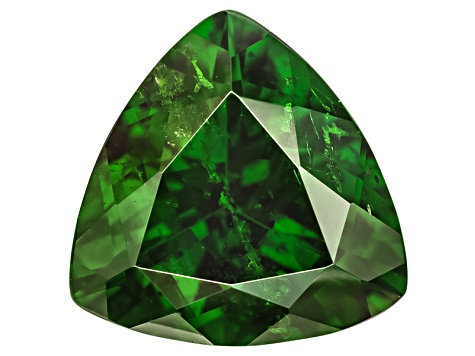 Chrome Diopside 10.8mm Trillion 3.98ct