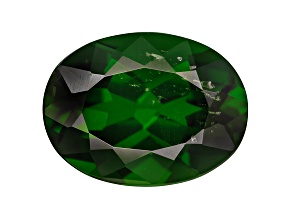 Chrome Diopside 9x7mm Oval Shape 1.50ct