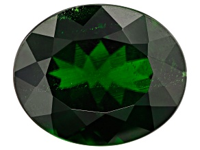 Chrome Diopside 2.75ct min wt 11x9mm Oval