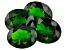 Chrome Diopside 10.02ct Set Of 4 Varies Mm Oval