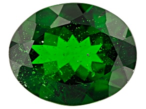 3.19ct  Chrome Diopside 11x9mm Oval