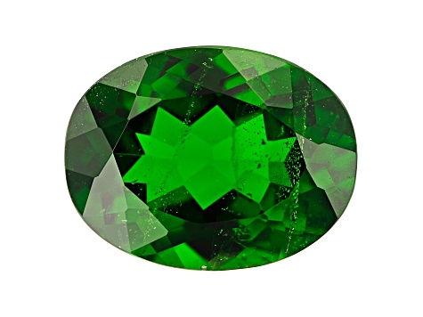 2.35ct Chrome Diopside 10x8mm Oval